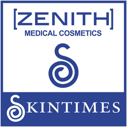 mark for [ZENITH] MEDICAL COSMETICS S SKINTIMES, trademark #85786391