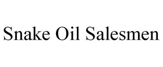 mark for SNAKE OIL SALESMEN, trademark #85786575