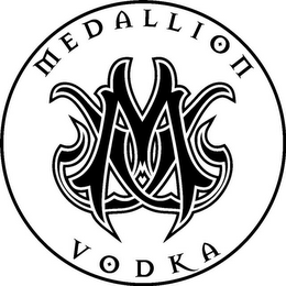 mark for MV MEDALLION VODKA, trademark #85786697