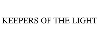 mark for KEEPERS OF THE LIGHT, trademark #85786712