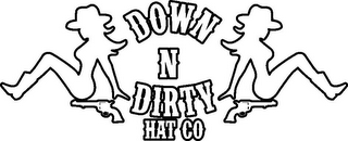mark for DOWN N DIRTY HAT CO, trademark #85786838