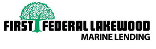 mark for FIRST FEDERAL LAKEWOOD MARINE LENDING, trademark #85786941
