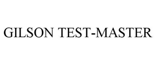 mark for GILSON TEST-MASTER, trademark #85787000