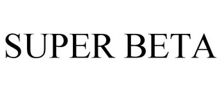 mark for SUPER BETA, trademark #85787147