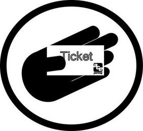 mark for TICKET ACE PARKING, trademark #85787306