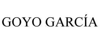 mark for GOYO GARCÍA, trademark #85787312
