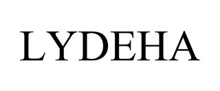mark for LYDEHA, trademark #85787321