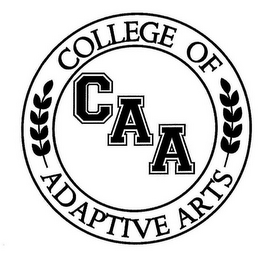 mark for COLLEGE OF ADAPTIVE ARTS, CAA, trademark #85787418