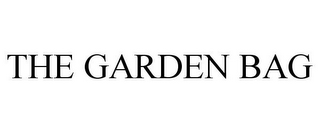 mark for THE GARDEN BAG, trademark #85787454