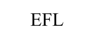 mark for EFL, trademark #85787559