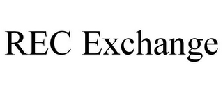 mark for REC EXCHANGE, trademark #85787887
