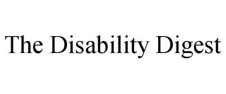 mark for THE DISABILITY DIGEST, trademark #85787982