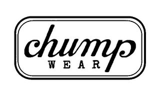 mark for CHUMP WEAR, trademark #85788060