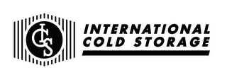 mark for ICS INTERNATIONAL COLD STORAGE, trademark #85788236