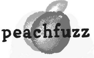 mark for PEACHFUZZ, trademark #85788265