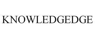 mark for KNOWLEDGEDGE, trademark #85788358