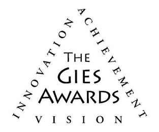 mark for THE GIES AWARDS VISION INNOVATION ACHIEVEMENT, trademark #85788427