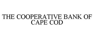 mark for THE COOPERATIVE BANK OF CAPE COD, trademark #85788521