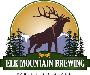 mark for ELK MOUNTAIN BREWING PARKER COLORADO, trademark #85788538