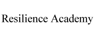 mark for RESILIENCE ACADEMY, trademark #85788943