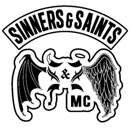 mark for SINNERS & SAINTS MC, trademark #85789041