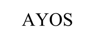 mark for AYOS, trademark #85789295