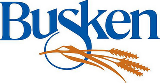 mark for BUSKEN, trademark #85789496