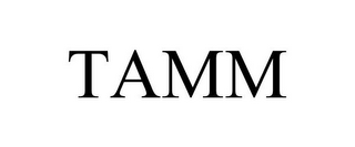 mark for TAMM, trademark #85789587
