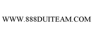 mark for WWW.888DUITEAM.COM, trademark #85789661