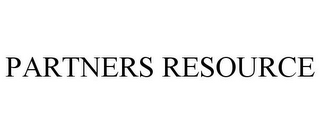 mark for PARTNERS RESOURCE, trademark #85789691