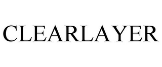 mark for CLEARLAYER, trademark #85790468