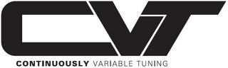 mark for CVT CONTINUOUSLY VARIABLE TUNING, trademark #85790562
