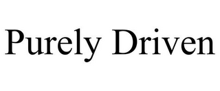 mark for PURELY DRIVEN, trademark #85790595