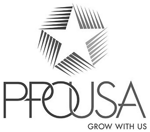 mark for PPOUSA GROW WITH US, trademark #85790656