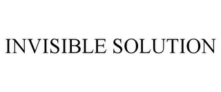 mark for INVISIBLE SOLUTION, trademark #85790742