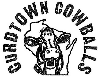 mark for CURDTOWN COWBALLS, trademark #85790869
