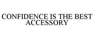 mark for CONFIDENCE IS THE BEST ACCESSORY, trademark #85791107