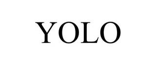 mark for YOLO, trademark #85791192