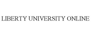 mark for LIBERTY UNIVERSITY ONLINE, trademark #85791298