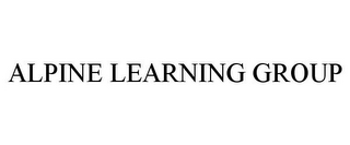 mark for ALPINE LEARNING GROUP, trademark #85791409