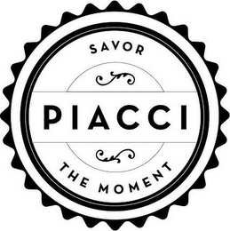 mark for PIACCI SAVOR THE MOMENT, trademark #85791439