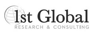 mark for 1ST GLOBAL RESEARCH & CONSULTING, trademark #85792185