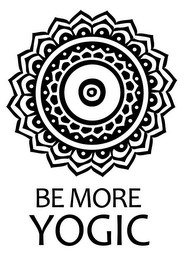 mark for BE MORE YOGIC, trademark #85792620