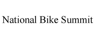 mark for NATIONAL BIKE SUMMIT, trademark #85792634