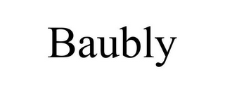 mark for BAUBLY, trademark #85792867