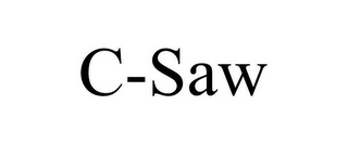 mark for C-SAW, trademark #85792889