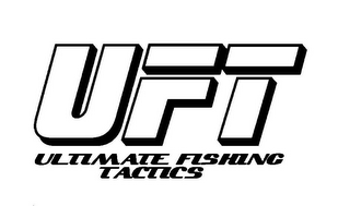 mark for UFT ULTIMATE FISHING TACTICS, trademark #85793136
