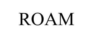 mark for ROAM, trademark #85793286