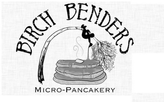 mark for BIRCH BENDERS MICRO-PANCAKERY, trademark #85793366