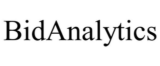 mark for BIDANALYTICS, trademark #85793557
